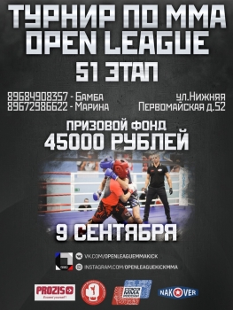 51 турнир OPEN LEAGUE