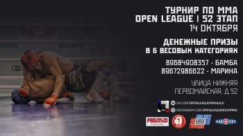 52 турнир OPEN LEAGUE