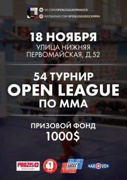 54 турнир OPEN LEAGUE